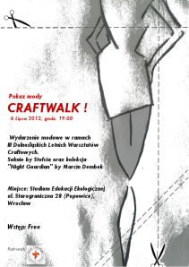 CraftwalkPlakat